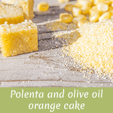 Polenta and olive oil orange cake Jingilli