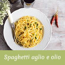 Spaghetti aglio e olio Jingilli