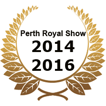 Perth Royal Show Silver 2014 and 2016